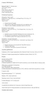 computer software to put on resume computer skills resume examples computer  skills put resume computer skills