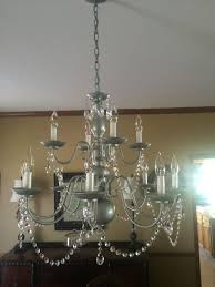 image of small chandeliers for closets