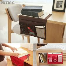 organizer storage remote control holder table bag bedside sofa couch pocket 1pc wll9095