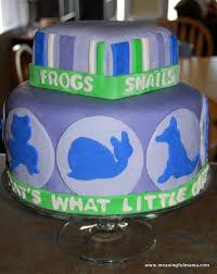 frog snails puppy dog tails 1st birthday