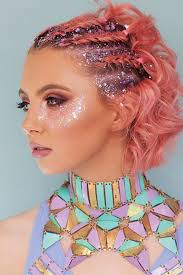 rave makeup edc
