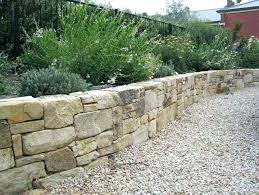 dry stack stone retaining wall dry stack stone wall ideas home exterior design photo of how dry stack stone retaining wall