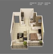 Peachy Design Ideas 10 3d Floor Plan 400 Sq Ft House Inspiration ...