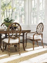 cedar key oval back side chair