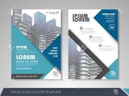 Design Brochure Template Modern Blue Brochure Design Brochure Template Brochures Brochure