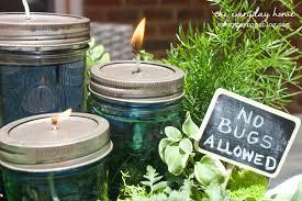 diy citronella mason jar candles the everyday home blog everydayhomeblog com 22