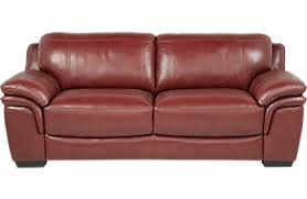 leather couches. Cindy Crawford Home Grand Palazzo Red Leather Sofa Couches D