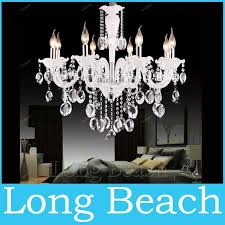 white crystal lighting chandeliers 8 arm modern crystal chandelier for living room lights bedroom lamp k9 chandelier light chandeliers chandeliers