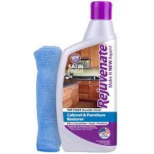 Cabinet Magic Cleaner Rejuvenate 16 Oz Satin Finish Cabinet Restorer And Protectant