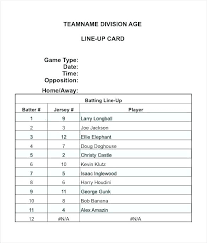 Little League Roster Template Free Roster Template Staff Roster Template Free Blank Class