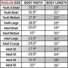Monogram Size Chart Team Athletic Two Color Monogram