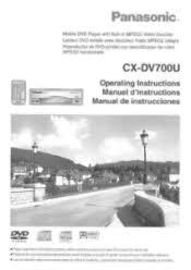panasonic automotive audio video manuals manualowl com panasonic cxdv700u cxdv700u user guide
