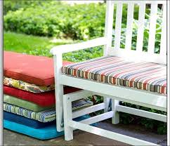 Furniture Amazing How To Make A Tufted Bench Cushion Outdoor