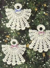 Free Christmas Angel Ornaments Crochet Pattern --- I've been making these  for