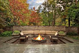 Outdoor Living Room Furniture For Your Patio Outdoor Living Spaces With Water Feature And Greens Traba Homes