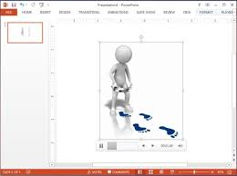 Powerpoint Animations Customizable Animations And Footsteps Clipart For Powerpoint