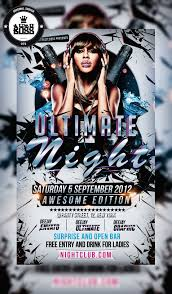 Free Party Flyer Templates 026 Pv Free Psd Gold Night Party Flyer Template Templates