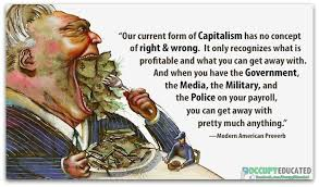 Image result for satirical criticism of American capitalism and materialism