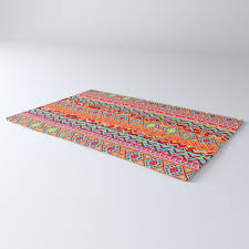 india style pattern multicolor rug