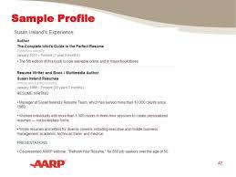 Resume It Professional Susanireland Sample Profile 47