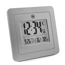 battery operated wall clock marathon cl gg digital wall clock with 4 5 inch
