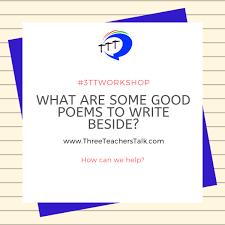Poetry Three Teachers Talk