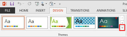 Word 2013 Themes Applying Themes In Word Excel And Powerpoint 2013 For Windows