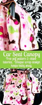 canopy baby car seat i love how this pattern wraps around the outside to keep it