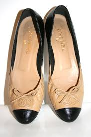 chanel flat shoes. hover to zoom chanel flat shoes