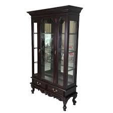 Chippendale Furniture Mahogany Furniture Chippendale Style Single Door Glass Display