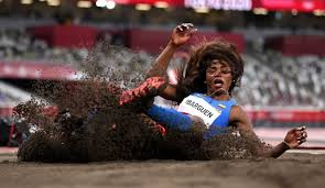 Yulimar rojas se convirtió campeona olímpica del triple salto femenino en los juegos olímpicos de tokio 2020. Kq 4kj4hq3pnwm