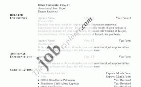 How To Write A Good Resume For Your First Job Resume Template