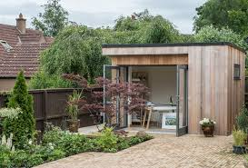 Small Picture Garden Room Art Studio Contemporary Garden Shed and Building