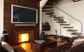 wall mounted screen led tv over fireplace design pictures