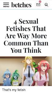 What is my sexual fetish