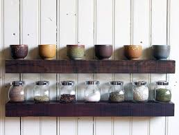 reclaimed oak shelf