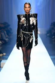 Black Couture Fashion Designers Jean Paul Gaultier Fall 2018 Couture Fashion Show In 2019