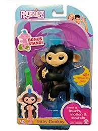 Amazon.com: Fingerlings Baby Monkey - Bella - Pink (Includes Bonus ...