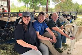claudia robin and robert ragels are growing their grade a certified goat dairy and cheesery