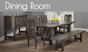 Amish Made Dining Room Furniture