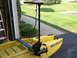 electric trolling motor setup for fishing kayak