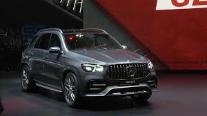 Sporty amg steering wheel, carbon fiber trim lift ambiance. World Premiere Mercedes Amg Gle 53 4matic At Geneva Motor Show 2019 Video Dailymotion