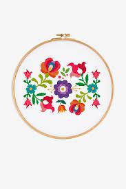Floral Cross Stitch Patterns New Decorating Ideas