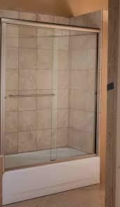 marvelous sliding shower door for bathtub
