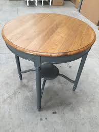 large round grey dining table ex showroom item 0044