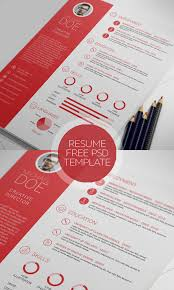 clean and professional resume free psd resume template download psd resume templates