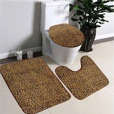 leopard bathroom ideas home design and pictures animal print decorating rustic shower curtain zebra bathroom