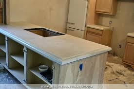 diy concrete countertop s where to supplies materials finished cement cost with design ideas pretty