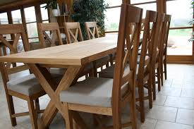 distance between legs of the 1 8 2 3m table is 1230mm when the table is closed and 1730mm when opened easily seating 3 or 4 people on each side