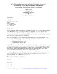 Recommendation Letter Undergraduate Images Letter Samples Format